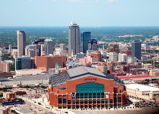 Top 10 Indianapolis Hotels Near Lucas Oil Stadium Indiana