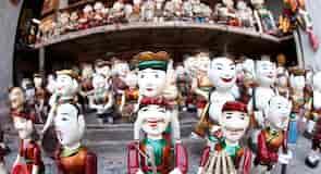 Tang Longo lėlių vandens teatras
