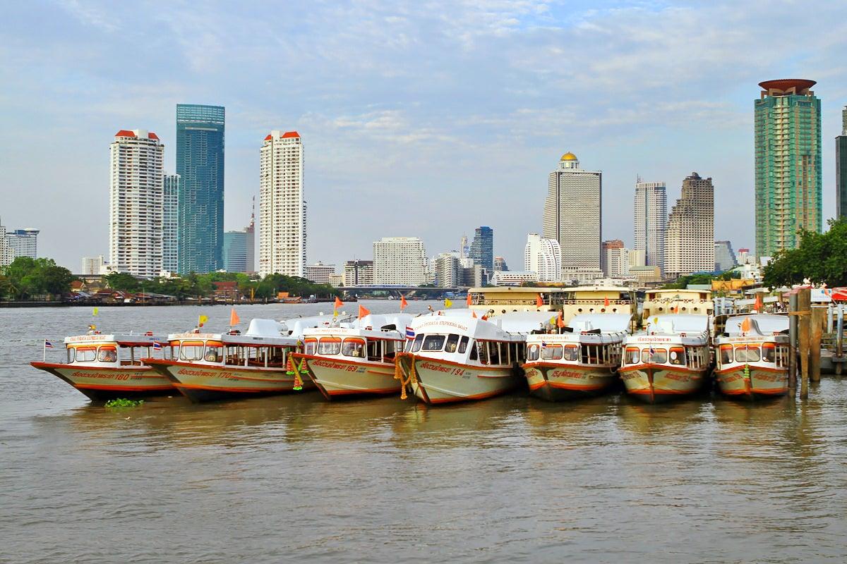 River Boats And Ferries In Bangkok Getting Around Bangkok