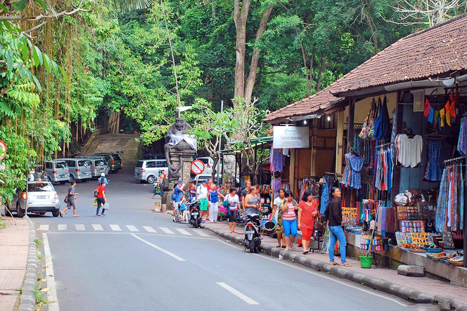 Ubud Monkey Forest Road - Sightseeing and Shopping Street in Ubud – Go  Guides