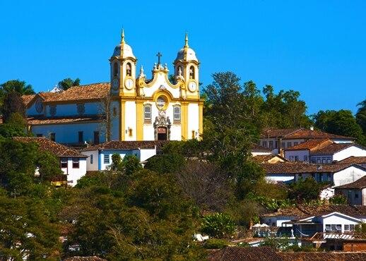 Tiradentes, Brazilië
