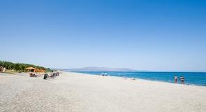 Пляж гавані Агія