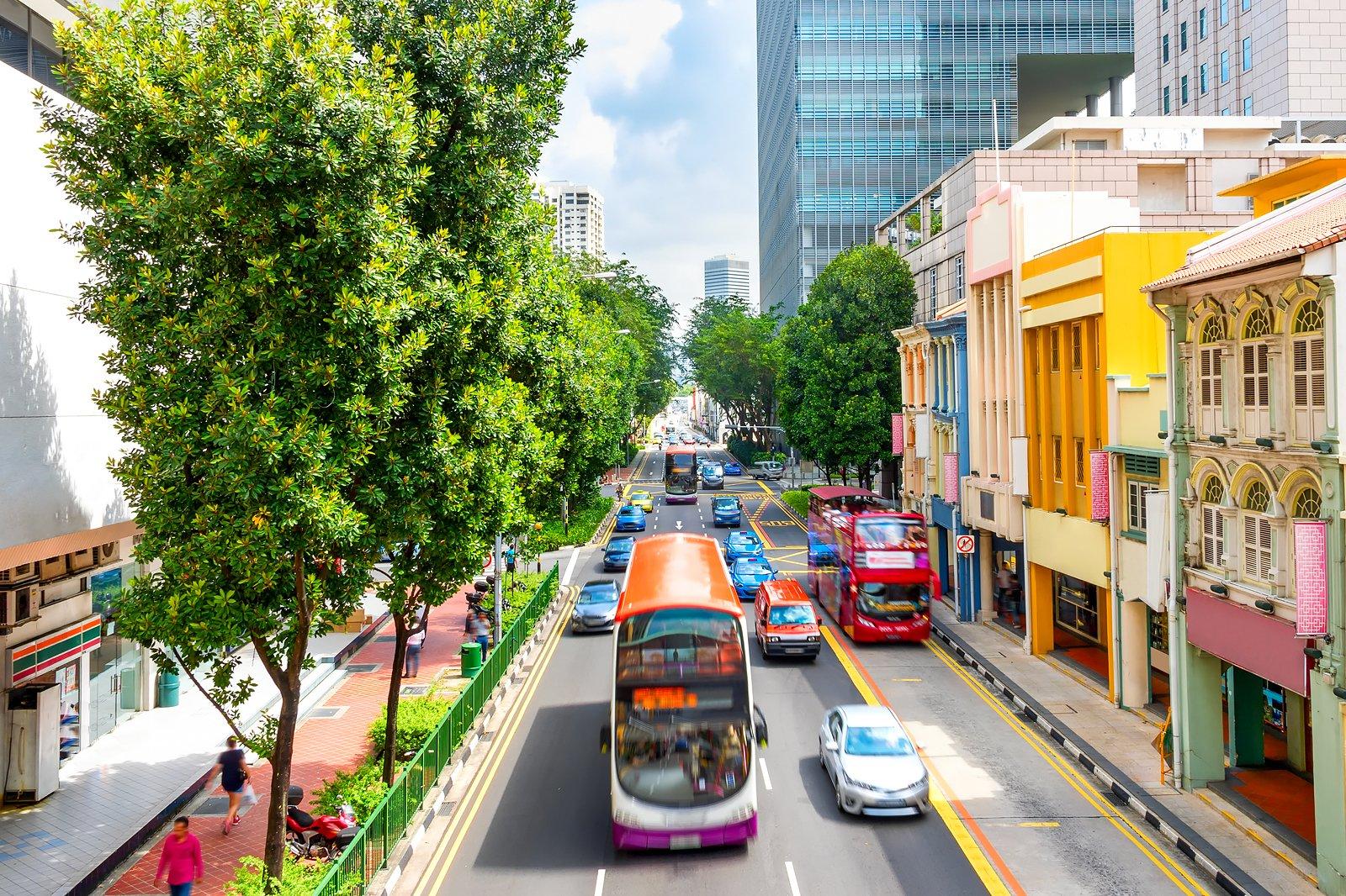 Getting Around Singapore - Singapore Transportation