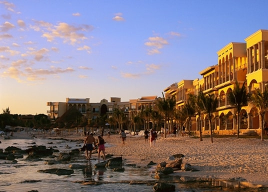 Plaja del Karmena, Meksika