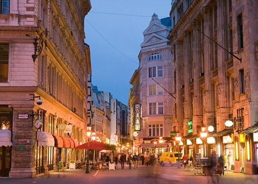 מרכז העיר בודפשט, הונגריה