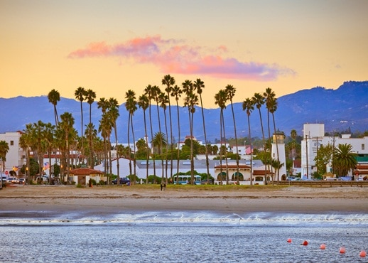 Santa Barbara, Californien, USA