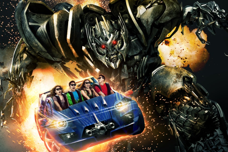 Universal Studios Singapore - Singapore Family Attraction in