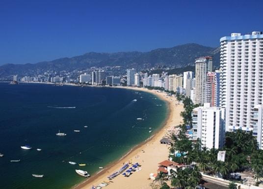 Acapulco Tradicional óváros és kikötő, Mexikó