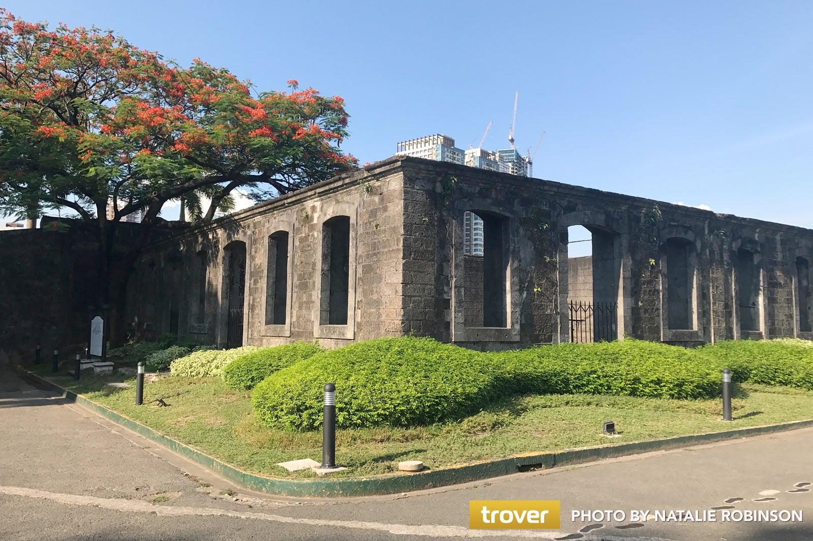 Fort Santiago In Manila Historic Manila Attraction