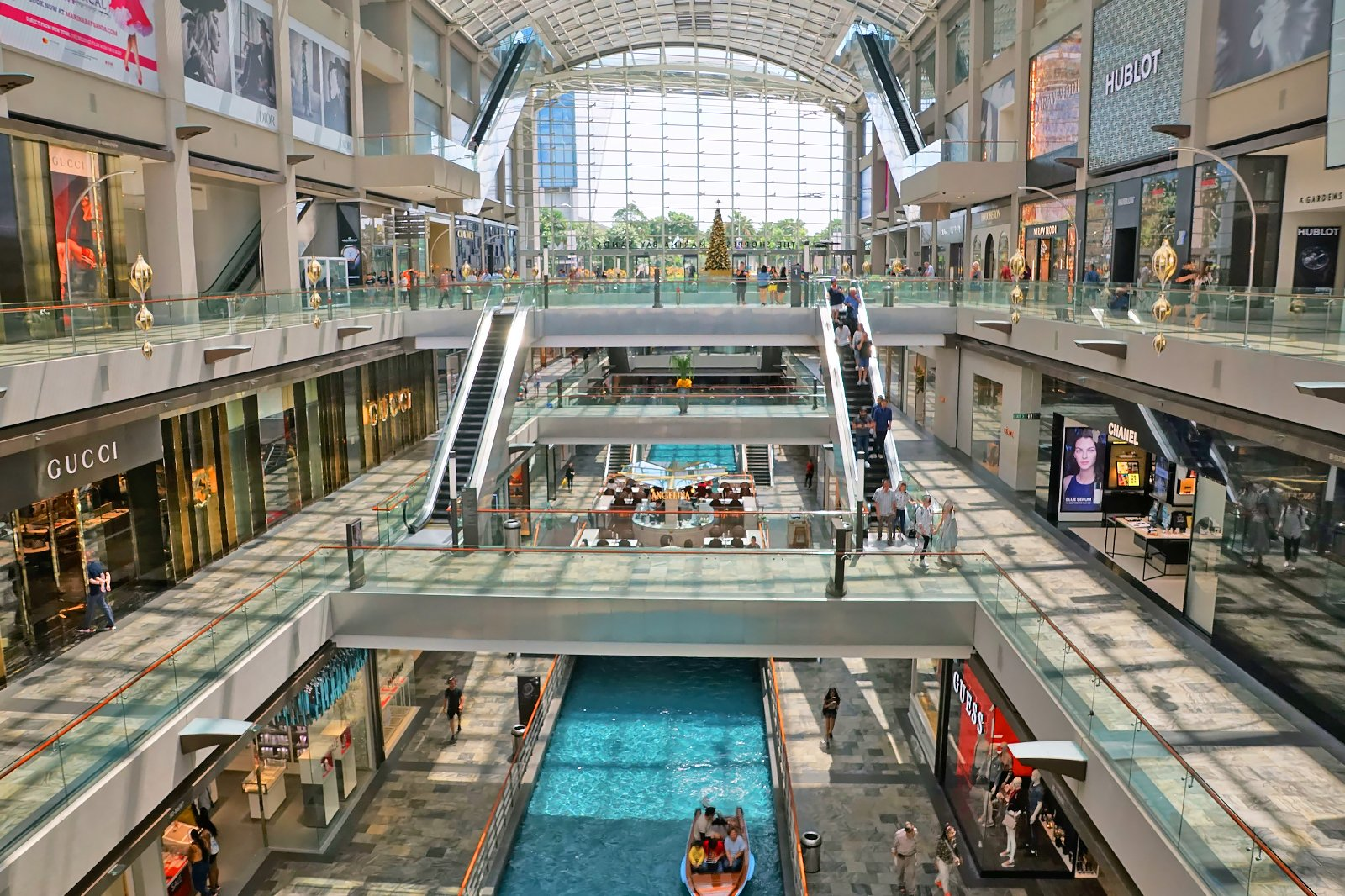 Image result for The Shoppes di Marina Bay Sands