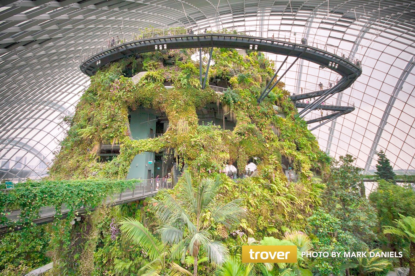 Cloud Forest at Gardens by the Bay - One of Singapore's Coolest Attractions