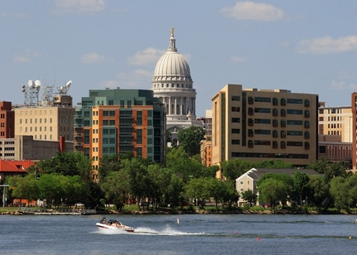 Downtown Madison, Wisconsin, United States of America