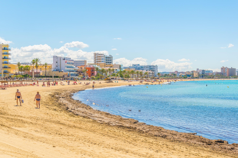 Playa de Palma, Spanyolország