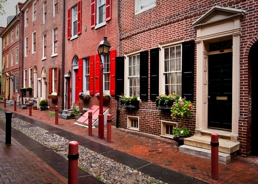 Old City Philadelphia Pennsylvania United States Of America