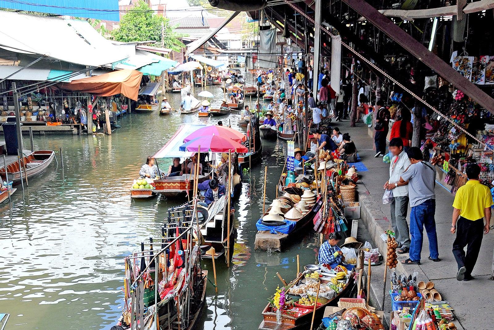 Damnoen Saduak Floating Market - Tour Thailand's Popular Floating Market  Near Bangkok – Go Guides