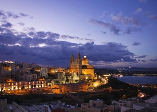 Sentpolsbeja, Malta